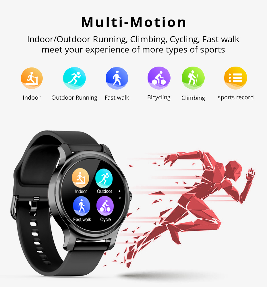 Makibes R2 Smart watch Men GPS Bluetooth Heart Rate Monitor clock Call Message Reminder Music Playe Fitness tracker smartwatch_04