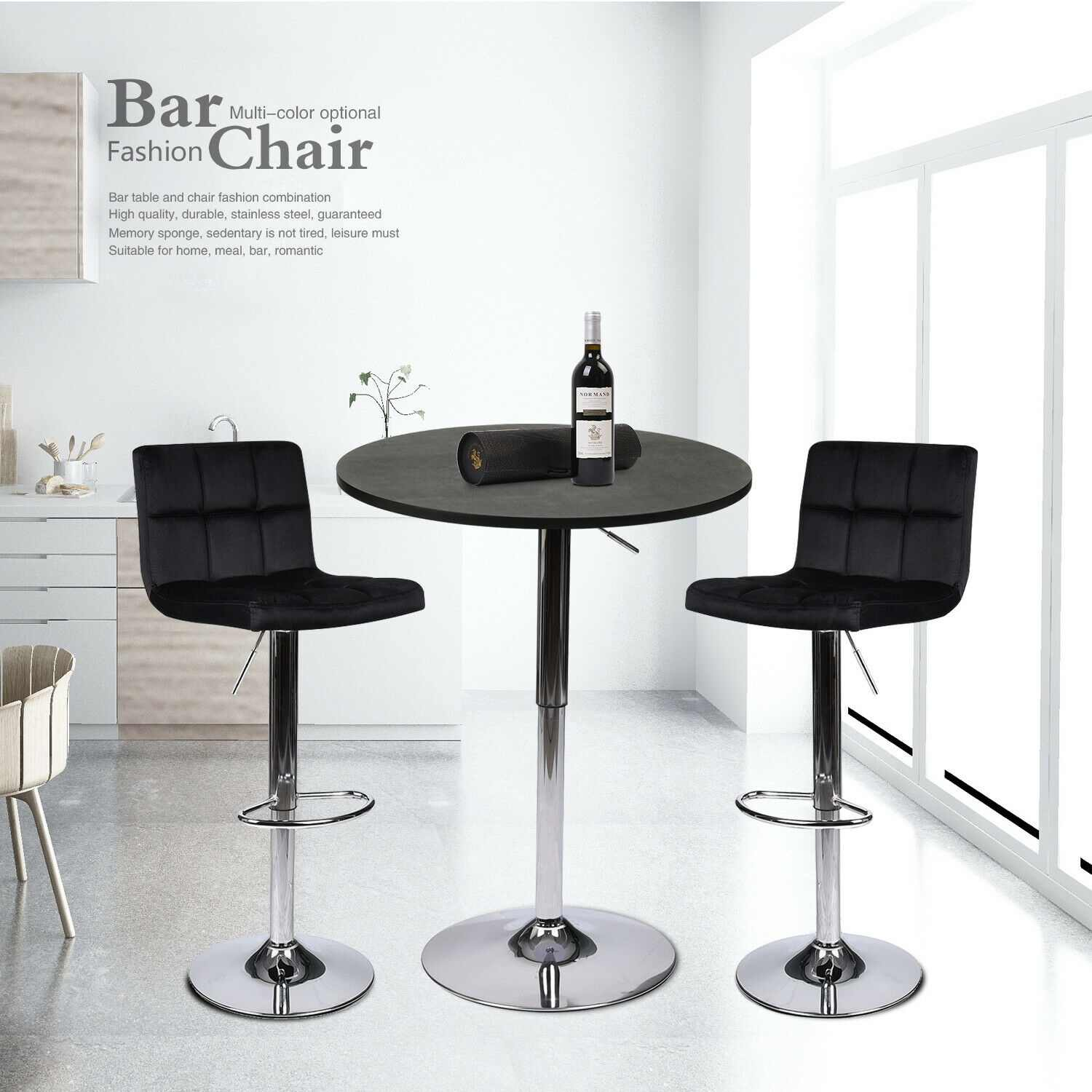 Counter Height Swivel Dining Chair