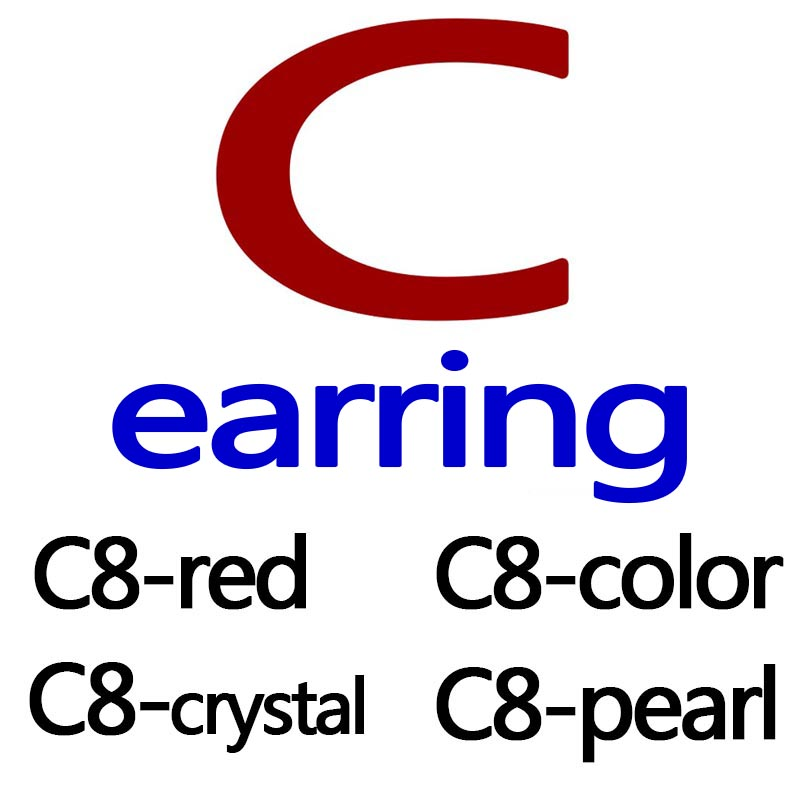 G Earring For Women Fashion Jewelry Earring Statement Earring Ear C  Jewelry Brincos Luxury Gold Color Grind Arenaceous Earring