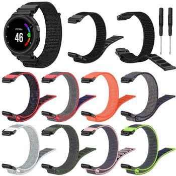 For Garmin Forerunner 220 230 235 630 620 735XT Nylon Band Smart Watch Wrist Bracelet For For Garmin Forerunner 235 Strap