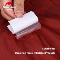 Naturehike 캠핑 액세서리 텐트 패치 수리 자체 접착 tpu 찢어 방지 방수 패치 텐트 침낭 매트 사용