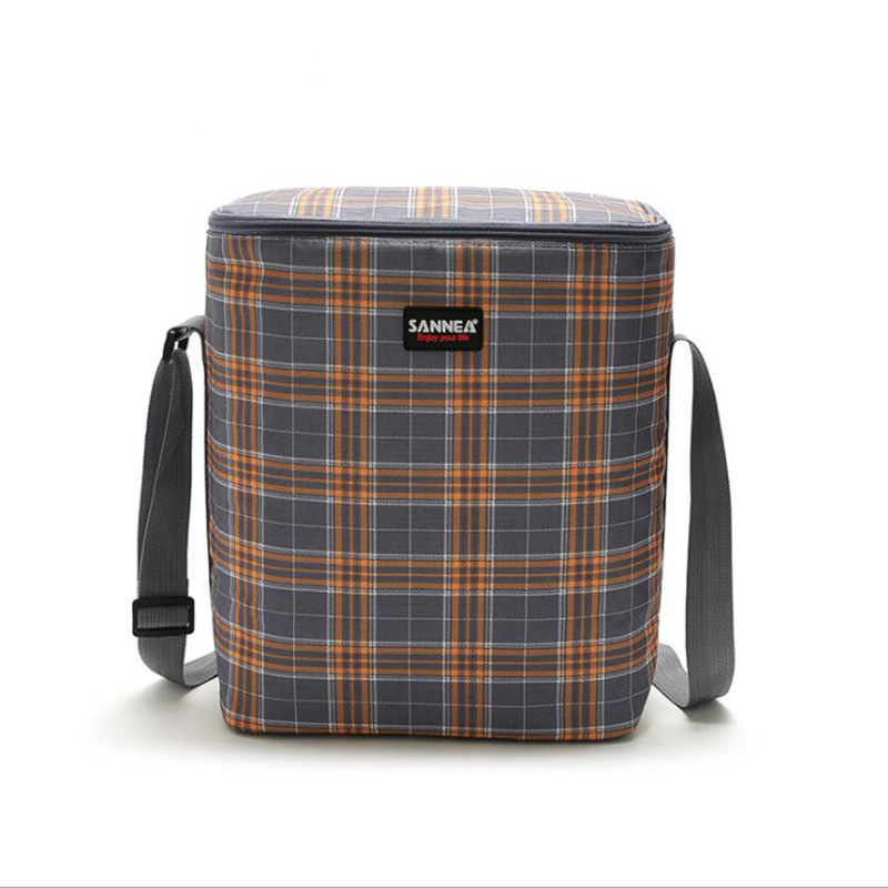 13L Lunch Bag Thermal Bag Lunch Bag Printed Insulated Thermal Food Picnic Handbag Portable Shoulder Lunch Box Tote