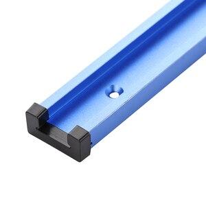 Image 5 - 1220mm T Track Slot Slide Slab t slot t track prowadnica ukośna oprawa gniazdo Router stół narzędzia do obróbki drewna 30 typ