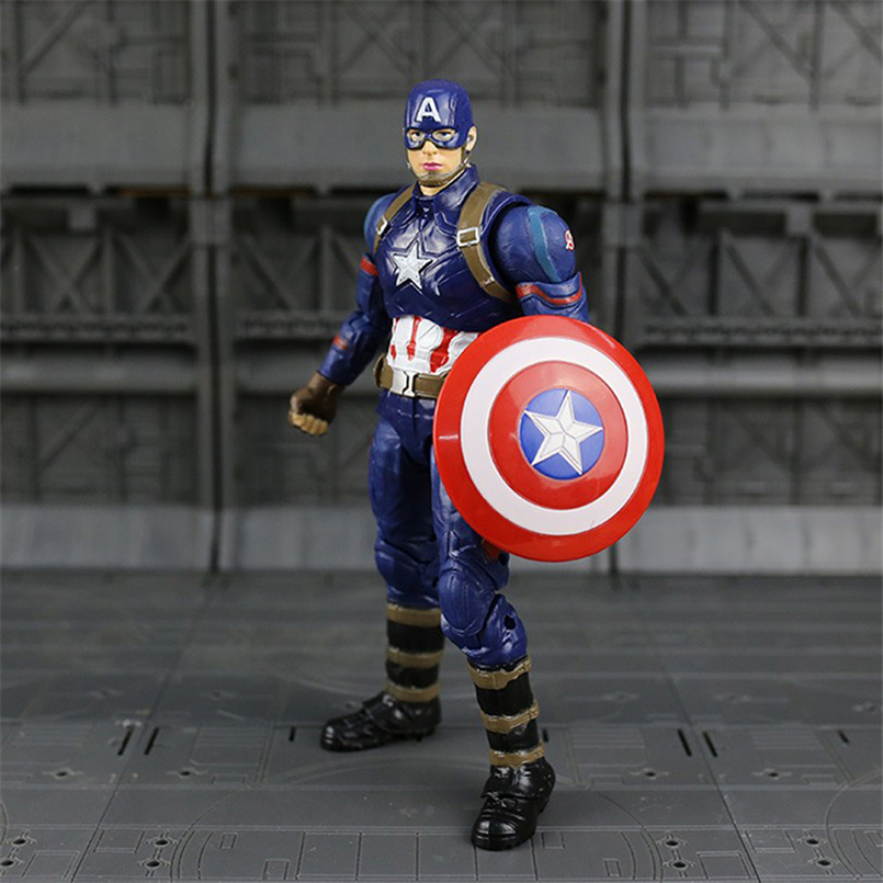 Comic Captain America 3 Avengers Infinity War Winter Soldier Action Figure Gift