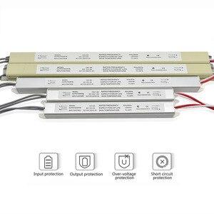 Image 1 - Ultra cienki zasilacz LED DC12V 18W 25W 36W 48W 60W transformatory oświetleniowe AC110 220V sterownik dla listwy LED tablica reklamowa