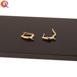Image 4 - Cordialออกแบบ50Pcs 12*18MMเครื่องประดับอุปกรณ์เสริม/DIY/ต่างหูตะขอ/ทองคำแท้ชุบ/มือ/ต่างหู