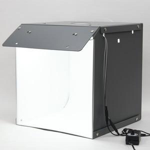 Image 3 - Nowy SANOTO 40cm namiot do zdjęć fotografia tło przenośny Softbox LED Light budka foto fold Photo Studio miękkie pudełko