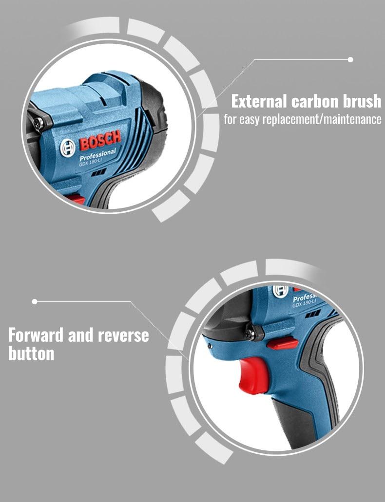 External carbon brush