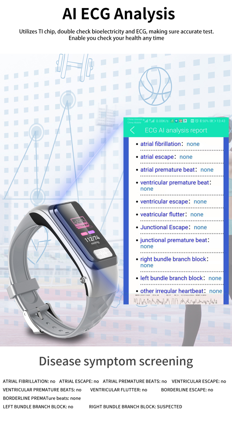 Wearable inteligente pulseira relógio bluetooth fone de