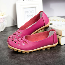 Genuine Cow Leather Women Casual Loafers Flats Woman Shoes 34-44 Ladies Fashion Slip-on Non-slip Female Sneakers High Quality beau genuine cow leather loafer shoes women new fashion bowknot fur wool lining slip on casual flats 27807