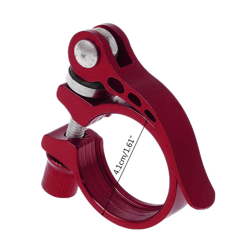 Aluminum Alloy Seatpost Clamp Quick Release MTB Cycling 34.9 Seat Bike Accessory