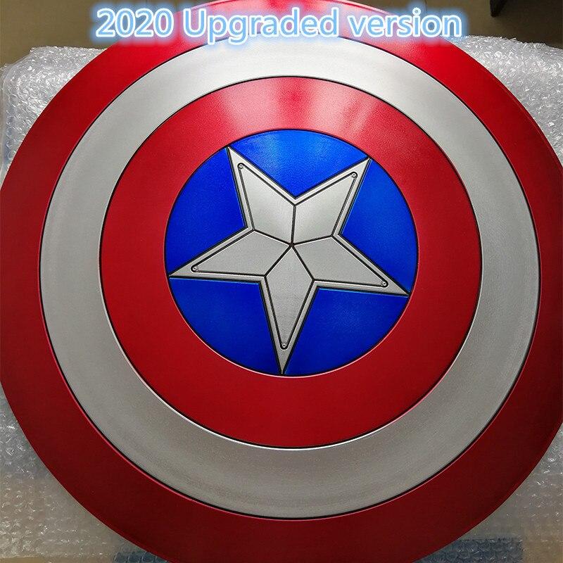 Filme vingadores 3 capitão américa escudo 1:1 completa escudo cosplay festa homem prop forte presente decoração da arte casa abs halloween