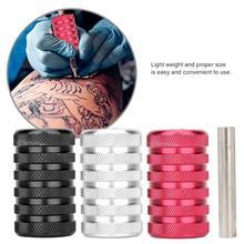 Регулируемая ручка для татуировки, сплав, противоскользящая ручка для татуировки, принадлежности для татуировки, инструменты для боди-арта, аксессуары, набор для татуировки