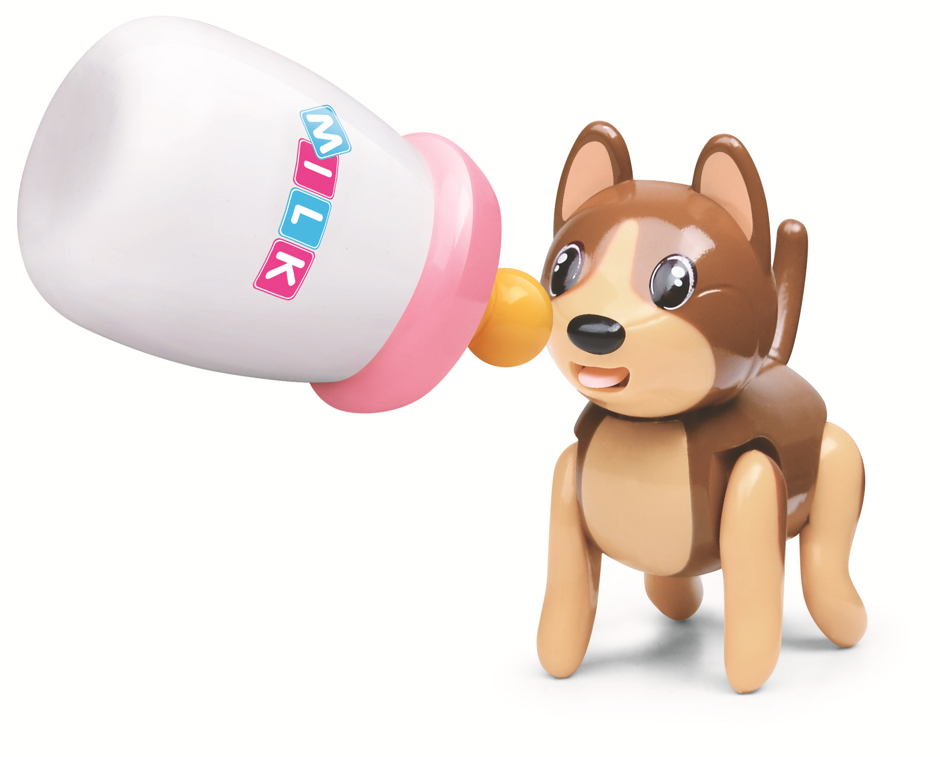 Douyin Sucking Pet Cats Wolf Lick Feeding Bottle Children'S Educational Early Childhood Electronic Pet Toy Play House