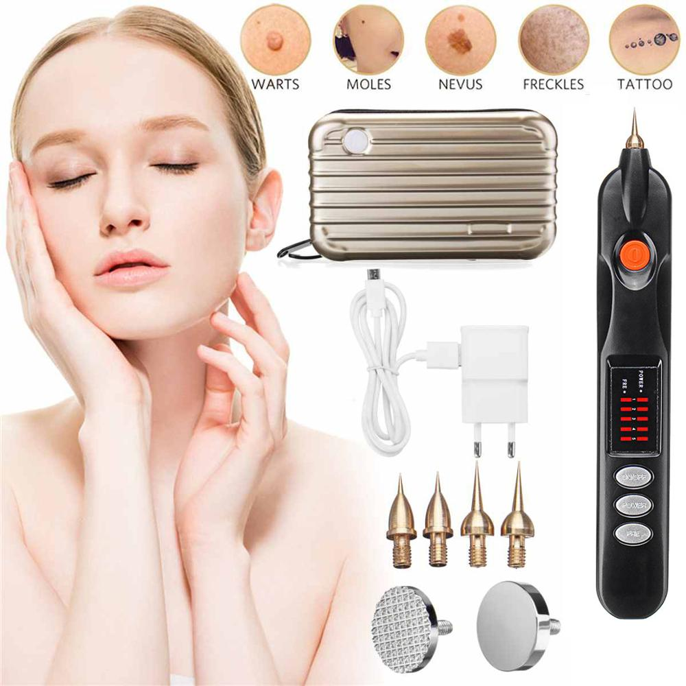 Korea Micro Plasma Pen FFreckle Wrinkle Mole Removal Ionic Spot Pen Skin Scares Mole Reckle For Skin Rejuvenation Eyelid Lifting