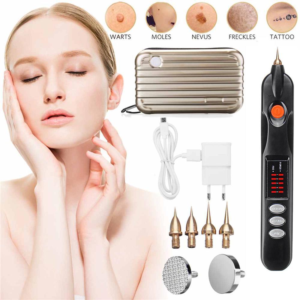 Korea Micro Plasma Pen FFreckle Wrinkle Mole Removal Ionic Spot Pen Skin Scares Mole Reckle For Skin Rejuvenation Eyelid Lifting