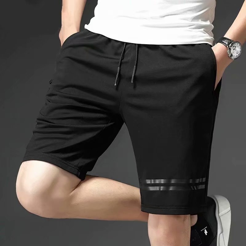 Sports Shorts Men's Popular Brand INS Loose Casual Trend Short Breeches Quick-Dry Beach In Pants Summer Thin Section