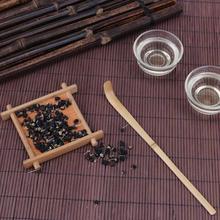 1 шт. ручная работа бамбуковая чайная ложка для чая палочки чайная церемония Аксессуары Ретро расслабляющий фермерский стиль совки принадлежность для чая