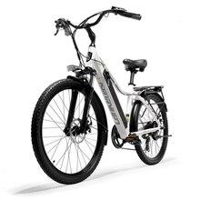 Моторный велосипед литиевая батарея мопед для взрослых 26 дюймов город вместо ходьба электрический автомобиль
