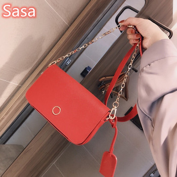 Sasa New women ladies luxury bag cowhide fashion One-shoulder handabag totes leather bags split cow leather Red color handbags