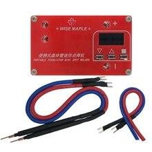 Portable Transistor DIY Mini Spot Welding Machine 18650 Lithium Battery LCD Display Screen Spot Welder