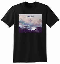 LINKIN PARK T SHIRT Recharged Summer Short Sleeve Shirts Tops S~3Xl Big Size Cotton Tees Free Shipping T-Shirt Top Tee