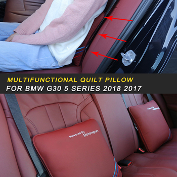 Multifunctional Quilt Pillow for BMW G30 5 Series 2018 2017 18 X3 G01 Auto