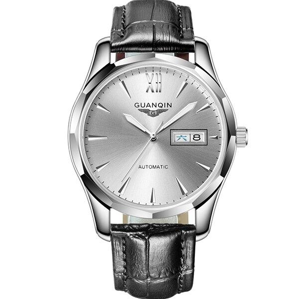 GUANQIN Sapphire Automatic Mechanical Watch men Japan NH36 Movement top brand luxury men watches waterproof  Relogio Masculino