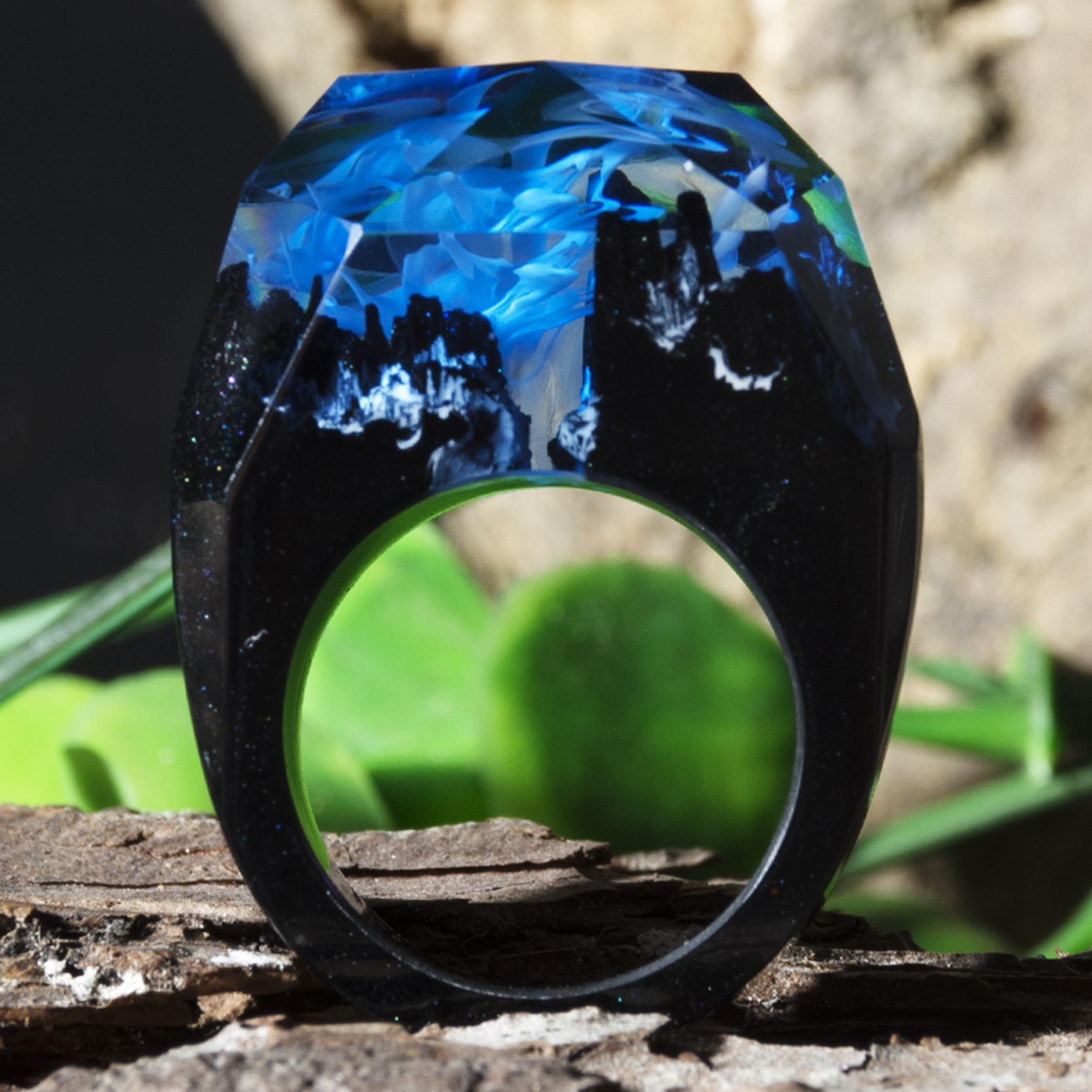 H6475aa7215a7449ba49d073a68c1c321K - Forest Ring