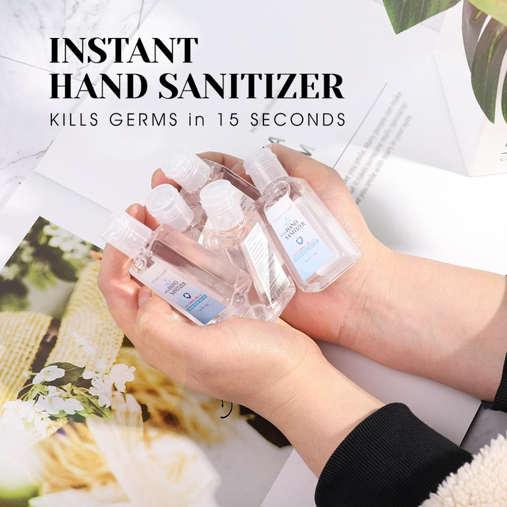 YOUNG VISION hand sanitizer gel hidroalcoholico kill germs 30g 70% Alcohol wash free instant antibacterial hand gel MN157