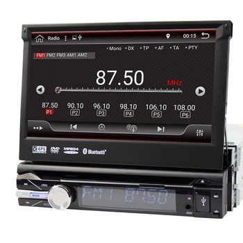 Eunavi Universal 1 din 7\'\' Android 9.0 car radio dvd player stereo Quad core 1din gps navigation stereo bluetooth wifi rds usb