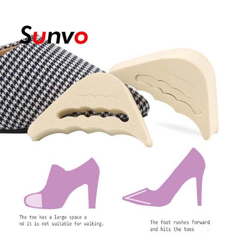 Forefoot Insert Pad For Women High Heels Toe Plug Half Sponge Shoes Cushion Feet Filler Adjustment Insoles Adjustment Pads