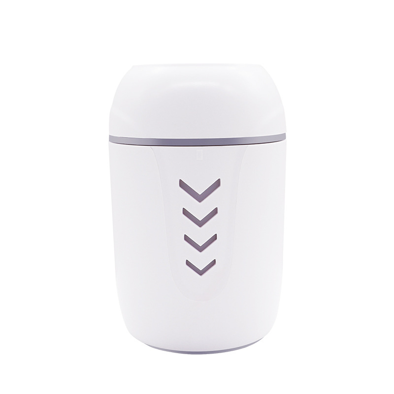 3 In 1 200Ml Usb Air Humidifier Ultrasonic Press Switch Mini Humidifier With Led Light Mini Usb Fan Humidifiers     - title=