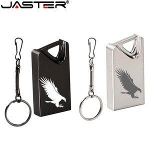 JASTERUSB Flash Drive 32 64 128 16 GB Mini Pendrive 128gb 64gb 32gb 16gb Pen Drive 2.0 USB Stick Disk on Key Memory for Phone