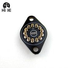 Socket Tube-Holder Glow-Tube Nixie IN14 Ceramic for In-14/Glow-tube/Fluorescent-tube