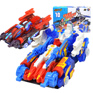 Image 3 - Tournevis autocollants de transformation éclaté sauvage, robot voiture, personnages animés, chasseur, capture de puces, gaufrette, jouets pour enfants, garçons et filles