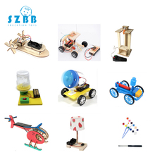 2019 Sz Steam 9sets Diy Physical Kids Science Experiments Kit School Projects Robot Assemble Creative Toys For Boys Educational