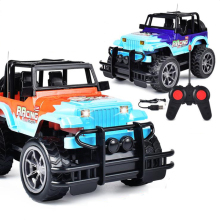 1:24 Four-Way Remote Control Car High-Speed SUV Dual Motor Bicycle Radio Off-Road Vehicle Childrens Toys