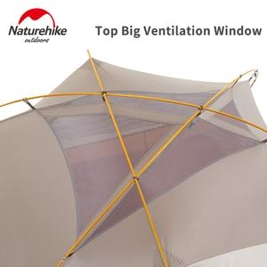 Image 4 - Naturehike 2019 sürümü bulutsusu 2 çadır Ultra hafif çift yerleşik çadır kamp rüzgar yağmur soğuk ve Blizzard vahşi kamp çadırı