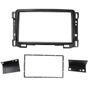 Image 2 - Top Quality Double Din Fascia For Chevrolet Sail Radio DVD Stereo Panel Dash Mount Install Trim Kit Refit Frame