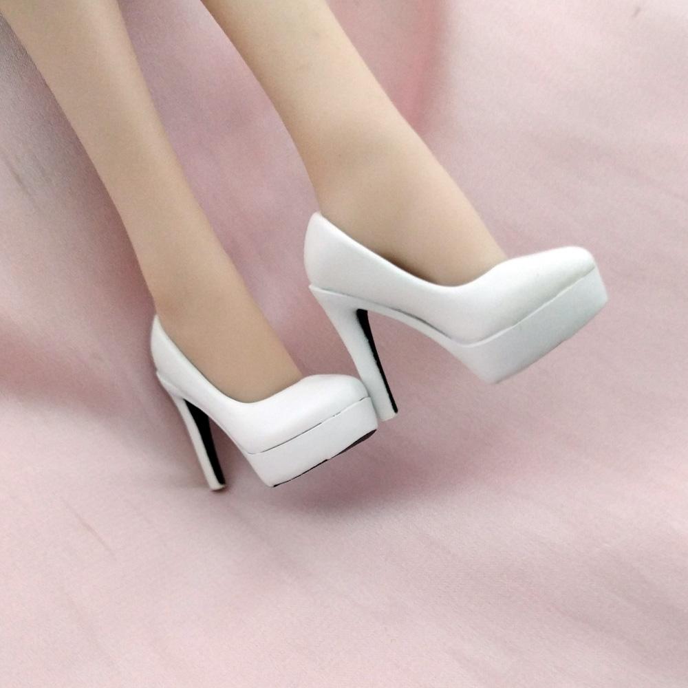 Custom 2# NERO scarpe tacco alto modello in scala 1//6 tbleague doll figure Donna