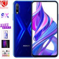 "100% NEW Honor 9X 9X Pro 4GB 64GB Kirin 810 Octa Core 6.59"" 1080*2340 Front Elevating Camera 16MP+48MP Rear 4000mAh Mobile Phone"