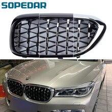 Автомобильный АБС-пластик, Алмазный передний бампер, решетки для BMW 5 серии G30 2017-2020, Сменные решетки для автомобильного гриля