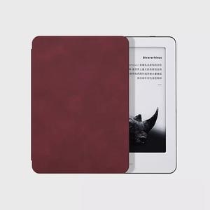 Image 2 - Youpin MoAn Schutzhülle Für Xiaomi MiReader e book Automatische Zurück Saug Leder Abdeckung Für Xiaomi ebook Schutzhülle