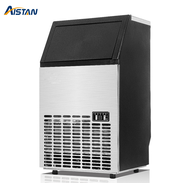 HZB80 Electric Automatic Ice Maker Commercial or Home Use Ice Cube Machine 220V 110V Cube Ice Maker