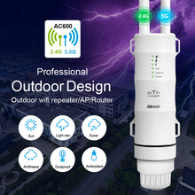 цена на Wifi Extender Outdoor Wifi Repeater Router Wifi Booster 1000 Meter Range Amplifier Wi fi Repeater Dual Band Access Point Outdoor