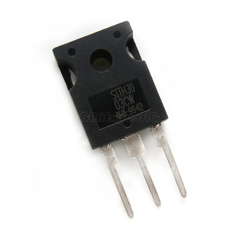 4 unidades//4 pieces stth 3003cw High Frequency second Rectifier 30a 300v New