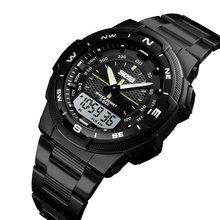 Männer Digitale Uhr SKMEI Marke Männer Uhren 50M Wasserdicht Chronograph Sport Uhr Herren Armbanduhr Luminous Alarm Uhr Männlich