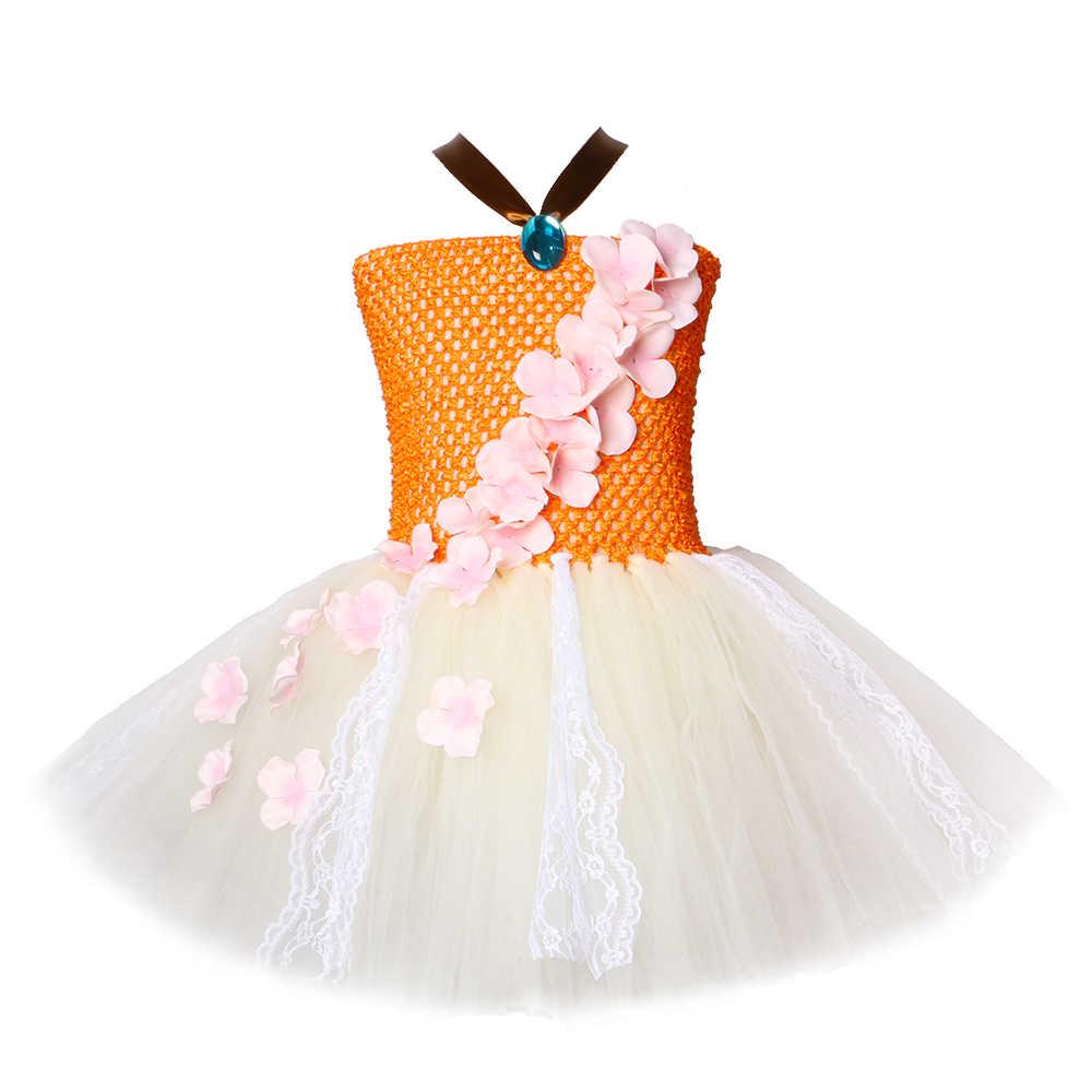 Niñas Princesa Sirena Tutú Vestido De Tul De Concha Para