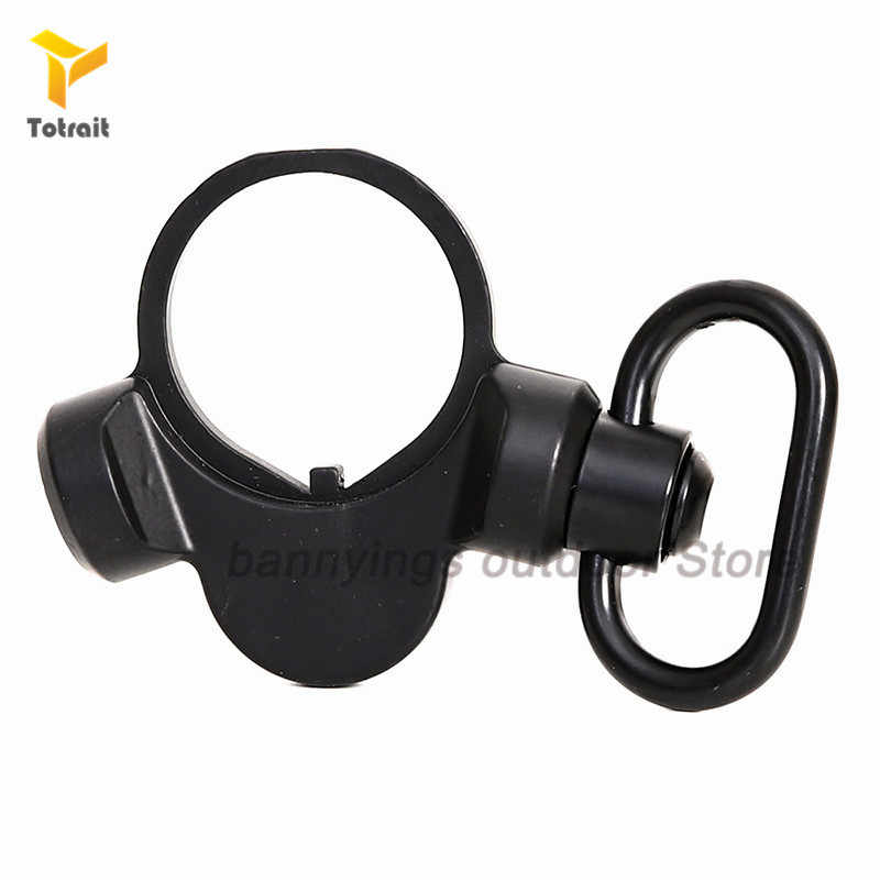Totrait Tactical Sling Adapter Sling Plate Mount Qd Sling Swivel Voor Airsoft M4/16 End Plate Gun Mount Jacht accessoires